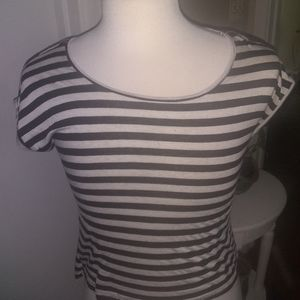Pearl Size S Striped Blouse